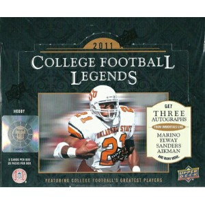2011 UD College Football Legends パック (Pack)