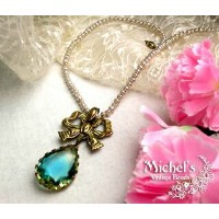 Michel's Vintage Beads Neckraceヴィンテージビーズネックレス