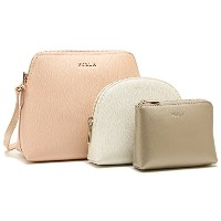 フルラ バッグ FURLA 887878 EK08 AM1 A12 BOHEME XL CROSSBODY POUCH レディース ショルダーバッグ BEIGE CHI/PET/CO.GOLD...