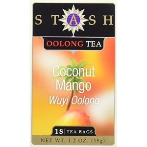 Stash Tea 62958-3pack Stash Tea Oolong Mango Wuyi Tea - 3x18 ct