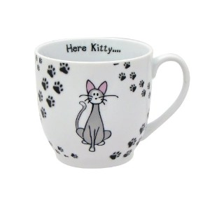 ZrikeブランドHere Kitty Mug , Set of 4