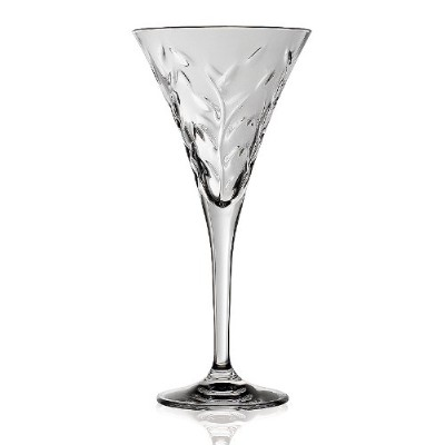 Lorenzo Import 237800 RCR Laurus Crystal Water Glass set of 6