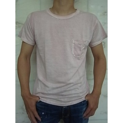 PORTER CLASSIC(ポータークラシック)【DYE-T】P.C DYE POCKET T-SHIRT☆PINK☆