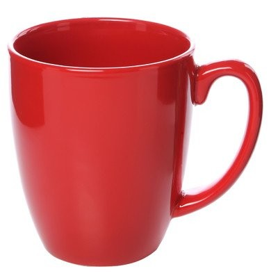 Livingware 11 oz. Mug [Set of 6] Color: Red by CORELLE