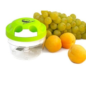 My Healthy Way-mini Food Chopper-Green-Manual Operation-Food Processor-Portion Control -PBA Free by...
