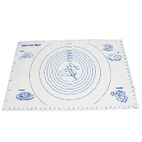 "Pastryマット、YYP Large Silicone Pastry Mat with測定値、23.5 "" x15.7 "" ( 60 x 40 cm )カウンタートップに、ノンスリップシート..."
