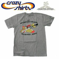 Crazy Shirts(クレイジーシャツ) S/S Tee @CRATER DYED[1022832] MOUSERSCHMITT クリバンキャット 半袖 Tシャツ HAWAII ハワイ ネコ...
