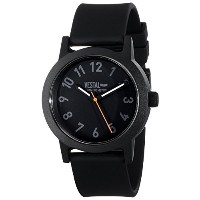 ベスタル Vestal Men's ALP3P04 Alpha Bravo Plastic Analog Display Japanese Quartz Black Watch [並行輸入品]