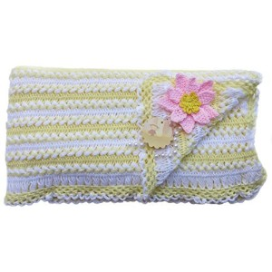 Handmade Pure Acrylic Baby Blanket - Crocheted 100% by Hand (Made to Order) by Patricia Avenue