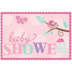 Tweet Baby Girl Invitations w/ Envelopes (8ct) by Amscan