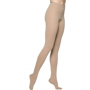 Sigvaris Access 972PMLO99 20-30 mmHg Open Toe Pantyhose, Black, Medium-Long by Sigvaris