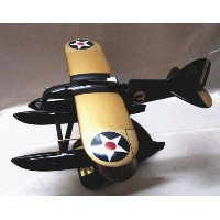 【レース米複葉機マホガニー製】Elite SKYWARRIORSシリーズ 1/20★CURTISS R3C-2 SCHNEIDER CUP WINNER 1925(米A)#US11-9