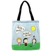 Angry Little Girls[アングリーリトルガールズ]オリジナルキャンパストート Don't Be A Hoe Tote