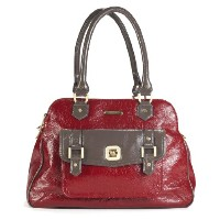Timi and Leslie Sophia Changing Bag (Cherry/ Taupe)