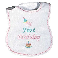 Dee Givens & Co-Raindrops 6003 My Birthday premier support Bib - Rose