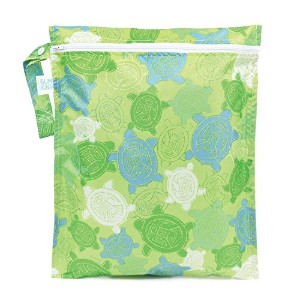 Bumkins Zippered Wet Bag, Turtles by Bumkins