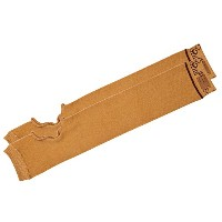 SecureSleevesテつョ Geri Skin Sleeves for Arms - Protects Sensitive Skin - One Pair - X-Large - Brown ...