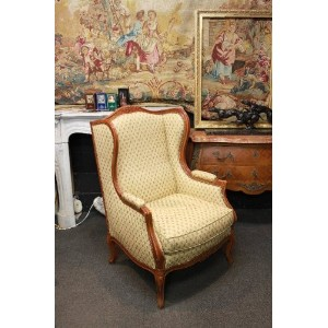 ISUHOUSE 椅子 BERGERE307 ウィングチェア クッション付き wing chair