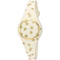 Kate Spade New YorkクリームとゴールドドットScallop Activity Tracker
