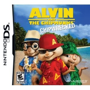DS ALVIN AND THE CHIPMUNKS CHIPWRECKED (海外版)
