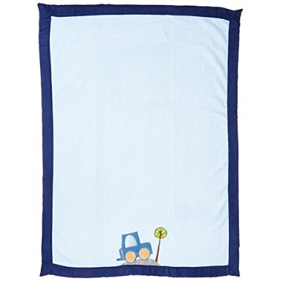 Lambs & Ivy Blanket, Little Traveler by Lambs & Ivy