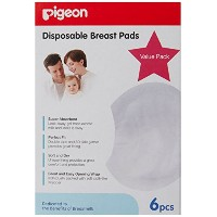 Pigeon Breast Pads (6 piece) by Pigeon