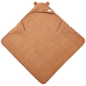Woombie Organic Cuddle Towels, Brown, 3-6 Years by Woombie
