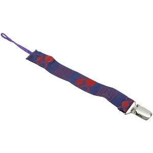 Baby Fanatic Pacifier Clip, New York Giants (Discontinued by Manufacturer) by Baby Fanatic [並行輸入品]