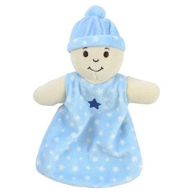 Babies R Us Security Blanket - Light Blue by Babies R Us