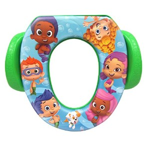 Nickelodeon Bubble Guppies Soft Potty Seat With Handles by Ginsey Home Solutions