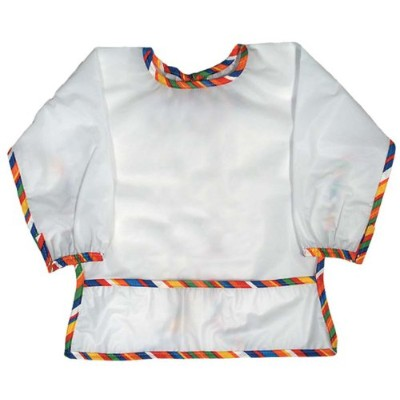 Raindrops Long Sleeve Water Repellant Infant Bib-Stripe, Multi by Raindrops