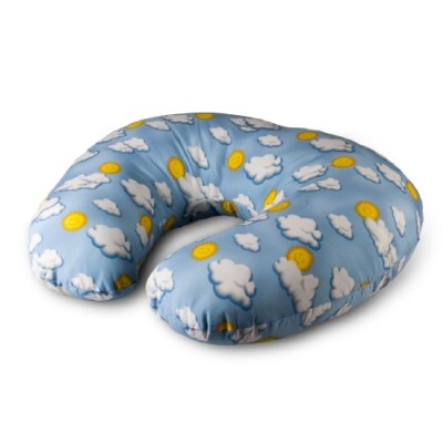 NurSit Basic Nursing Pillow, Clouds Print by NurSit