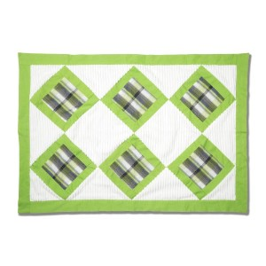 Pavilion Gift Company Chenille Baby Blanket, Grasshopper, 27 x 40 by Pavilion Gift Company
