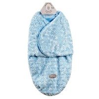 Baby's Petite Rose Swaddle Bag for 0-3 Months By Blankets and Beyond (Blue) by Blankets And Beyound