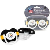 Pittsburgh Steelers NFL Baby Pacifiers by Baby Fanatic
