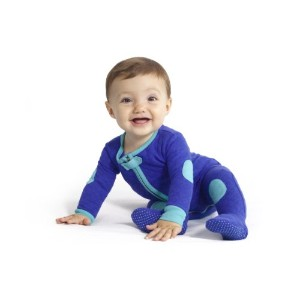 Baby Deedee Sleepsie Footie Pajamas, Peacock, 3-6 months by baby deedee