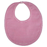 Kissy Kissy Baby Essentials Striped Bib-Fuchsia-One Size by Kissy Kissy