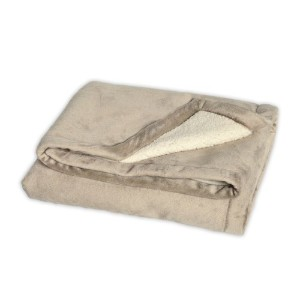JJ Cole BundleMe Throw Blanket, Khaki by JJ Cole
