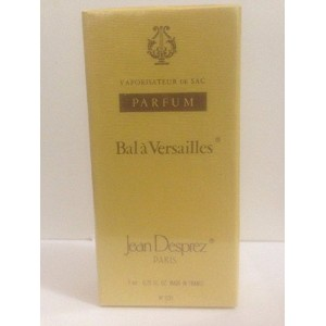 Bal A Versailles (バラ ベルサイユ) 0.25 oz (7ml) Deluxe Parfum (純粋香水) by Jean Desprez for Women