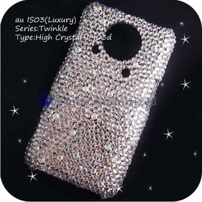 iPodtouch5ケースカバー 豪華スワロフスキーデコ電HIGH CRYSTAL-LUX-T5