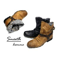 bz Smooth Inner Check Boots【RCP】10P07Nov15
