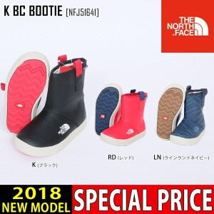 17-18 THE NORTH FACE ノースフェイス キッズ ブーツ K BC BOOTIE 靴 NFJ51641 キッズ 子供