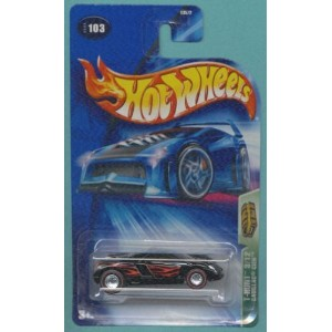 【送料無料】【Hot Wheels 2004 Treasure Hunt Black & Red Cadillac Cien 3/12 #103 Limited Edition 1:64...