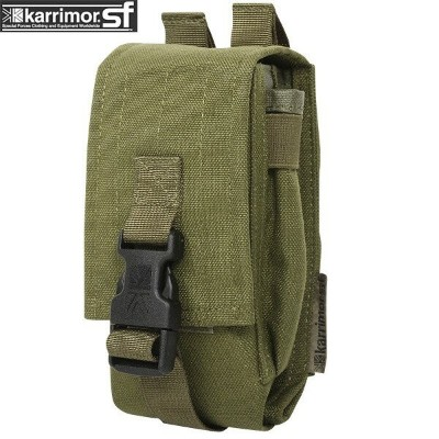【20%OFFクーポン対象】karrimor SF カリマースペシャルフォース Single Ammo Pouch OLIVE 【Single Ammo Pouch】《WIP03》