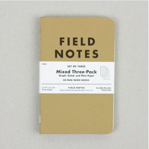 FIELD NOTES[フィールドノート]Mixed 3pack
