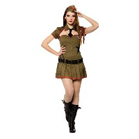 Bristol Novelty Green Sexy Soldier Adult Costumes - Women's - One Size