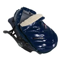 7AM Enfant Polar Igloo Baby Bunting Bag Adaptable for Strollers, Oford Blue, Large by 7AM Enfant