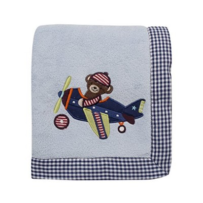 Lambs & Ivy Baby Aviator Blanket by Lambs & Ivy