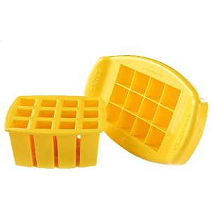FunBites Food Cutter, Yellow Squares by FunBites