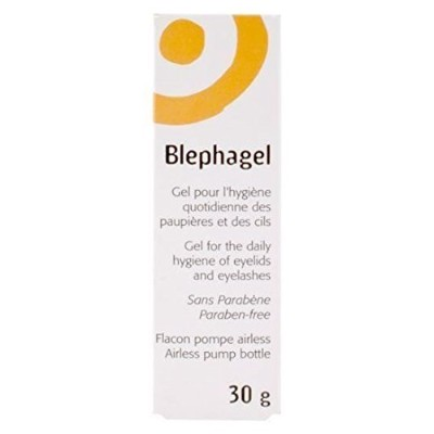 THREE PACKS of Blephagel Preservative Free Gel 30g by Blephagel [並行輸入品]